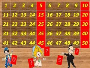 Запомни числа, которые получаются при умножении числа 5!