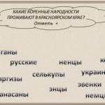 Народности Красноярского края